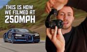 Как заснеха Bugatti Chiron с 400 км/ч