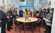 Фарс: осветиха портрет на Борисов за старт на предизборната кампания на ГЕРБ–СДС в Поморие