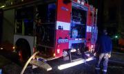 Мъж е пострадал при пожар в гараж в София