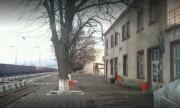Пожар в склад подпали и гарата в Айтос