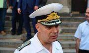 Отличиха командира на ВМС за операцията за търсене на падналия край Шабла пилот