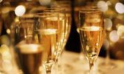 Шампанско за медиците на първа линия