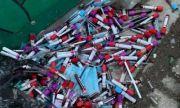 Прокуратурата разследва изхвърлянето на епруветки с кръв край детска градина във Варна