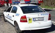 Верижна катастрофа образува голямо задръстване на главен път Е-79 край Кресна
