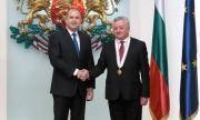"""Президентът удостои молдовския посланик у нас с орден """"Мадарски конник"""" първа степен"""