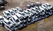 Още една компания за коли под наем фалира: колите са на сметището (ВИДЕО)