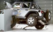 Jeep Wrangler се преобърна в краш тест (ВИДЕО)