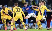 Наполи и Барса не се победиха в Шампионската лига (ВИДЕО)