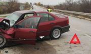 Пет жени с BMW пострадаха след безумно изпреварване