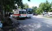 Шофьор на градски автобус сгази мъж на пешеходна пътека в Пловдив