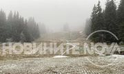 Първият сняг заваля на Витоша