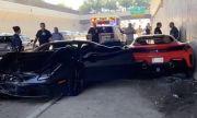Три Ferrari-та катастрофираха на магистрала (ВИДЕО)