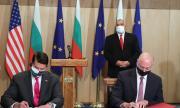 България и САЩ подписаха ключови документи