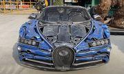 Bugatti Chiron, направено от... скрап (ВИДЕО)