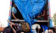 Откриха 12 мигранти от Афганистан, превозвани от български шофьори в Румъния
