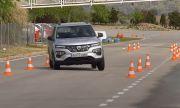 """Електрическата Dacia се справи по-добре от Tesla Model X при """"лосов тест"""" (ВИДЕО)"""