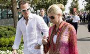 Жената на Шумахер се заключвала в тоалетната заради пилота
