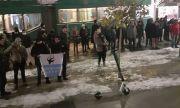 Протестът в столицата: