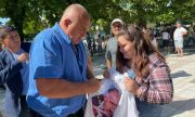Борисов в Дулово: Пипат машините, ще прехвърлят гласове на Трифонов