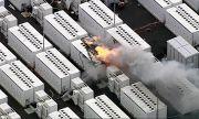 Пожар в едно от съоръженията за съхранение на енергия на Tesla