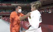 Германската джудистка, която яде шамари от треньора си в Токио, проговори след големия скандал