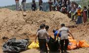 Правят масов гроб за жертвите на цунамито