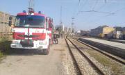 Разиграха авария с газ пропан на гара Стара Загора (ВИДЕО)