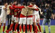 Бенфика и Йънг Бойс в групите на Шампионската лига