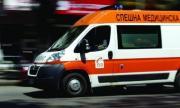 Бой с бухалки след катастрофа в Люлин