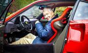 80-годишен пенсионер кара ежедневно Ferrari F40 (ВИДЕО)