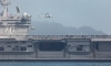 US самолетоносач плава в Южнокитайско море