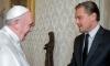 Ди Каприо поздрави папата на италиански