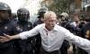 Полицията окървави протеста пред парламента в Мадрид