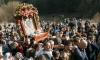 Стотици миряни на шествието в Бачковския манастир