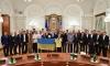 Порошенко видя руска следа в боя над чернокожи в Киев