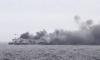 Ферибот се запали край остров Корфу, евакуират над 450 души (обновена) - 1