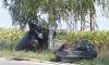 Автомобил се разполови след удар в дърво, водачът е в реанимация