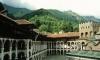 Река преля, изкърти настилка в Рилския манастир