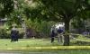 Самолет падна в двор на къща, пилотът загина