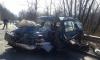 Кола се заби в цистерна близо до Мездра (Снимки)